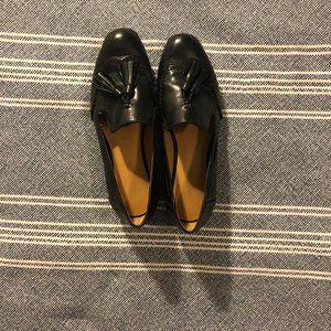 Nine West Black Tassel Loafers